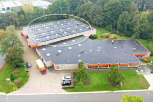 Solar Panels Leering Hengelo Facility