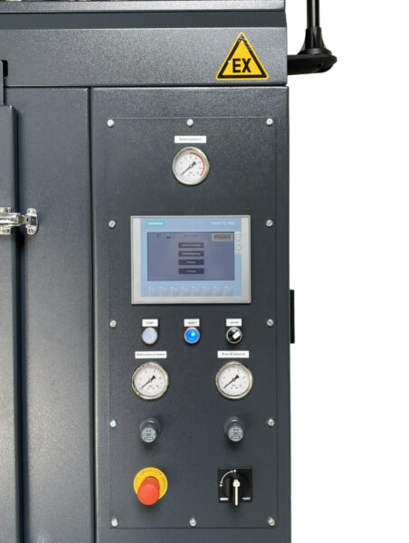 Normfinish 3D Excel - PLC controlled