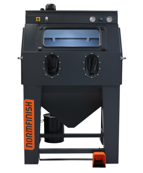 Normfinish-DI-injector-blast-cabinet-front-view